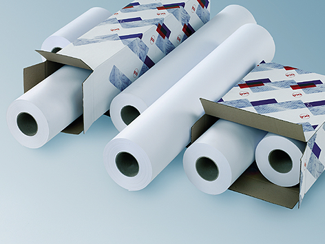 Рулонная бумага_OCE Top Color Paper LFM098, FSC 160гр/м2, 0.914х100м (97001841)