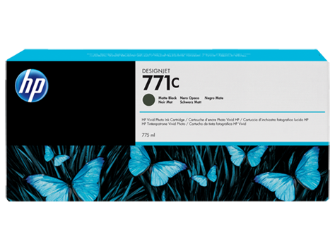 Картридж HP №771C Designjet Matte Black (B6Y07A)