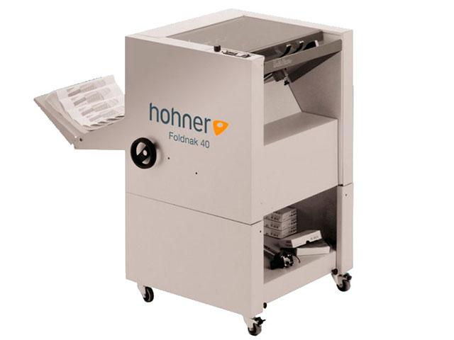 Буклетмейкер Hohner Foldnak 40 + степлирование в угол