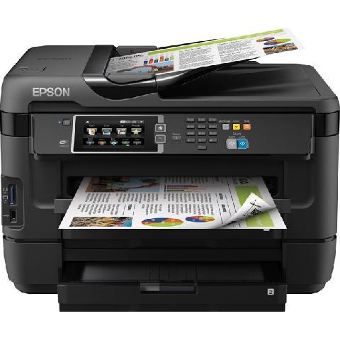 Epson WorkForce WF-7620DTWF(C11CC97302) принтер струйный epson l312