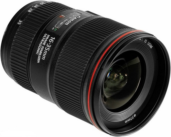 Canon EF 16-35mm f/4L IS USM объектив для фотоаппарата canon ef 16 35mm f 4l is usm 9518b005
