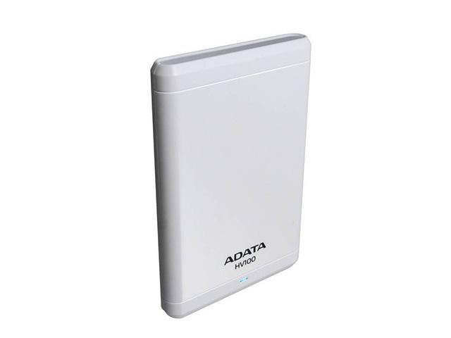 Внешний жесткий диск ADATA HV100 1 ТБ (AHV100-1TU3-CWH), белый