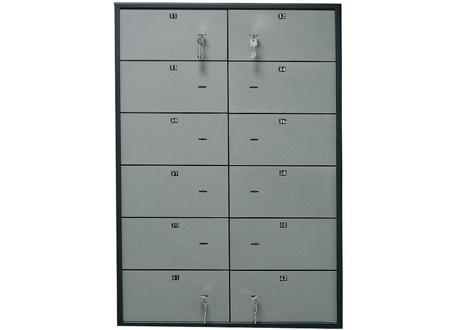 Блок депозитных ячеек DB-12S блок клеммников legrand 10мм 12 секций 34215