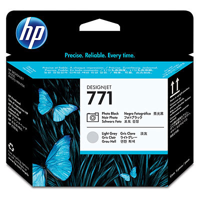 Печатающая головка HP №771 Designjet Photo Black & Light Gray (CE020A)