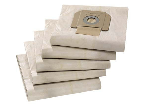 Бумажные фильтр мешки (двухслойные) для пылесосов Karcher NT 48/1, NT 65, NT 70/3, NT 75/2