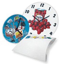 Часы настенные для сублимации и термопереноса