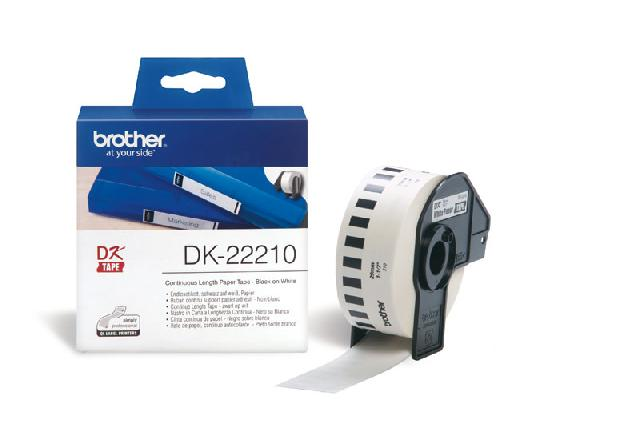 все цены на  Клеящаяся лента Brother DK22210  онлайн