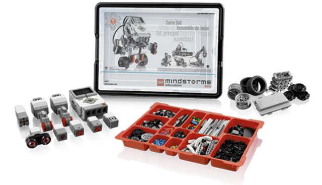 Базовый набор Lego MINDSTORMS Education EV3 набор запасных частей lego education lme 3 шарниры