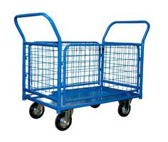 КПО-300 С (до 400 кг) платформенная 4 х колесная тележка стелла кпо 300 т 125 к
