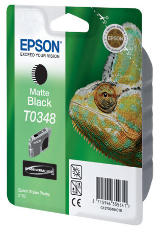 Картридж с черными матовыми чернилами   T0348 для SP2100 (C13T03484010)