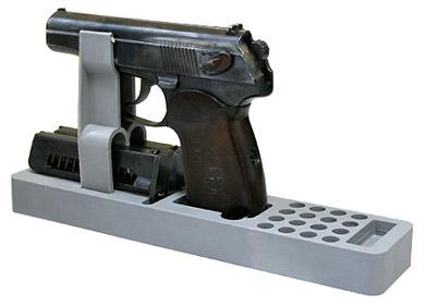 Ложемент пластиковый серый под пистолет Макарова Компания ForOffice 200.000