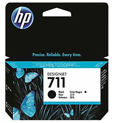 Картридж HP Designjet 711 Black (CZ133A) hot sales 80 printhead for hp80 print head hp for designjet 1000 1000plus 1050 1055 printer