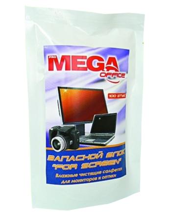 Запасной блок салфеток ProMega Office «For Screen» 100шт Компания ForOffice 82.000