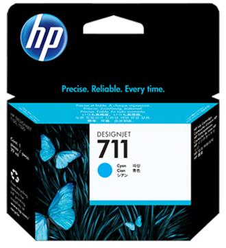 Картридж HP №711 Cyan (CZ134A)
