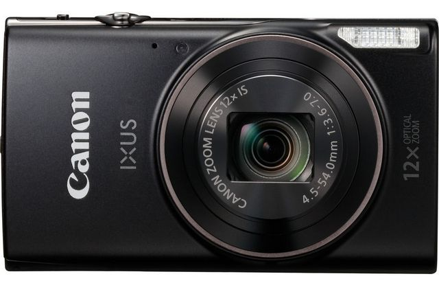 IXUS 285HS (черный) фотоаппарат canon ixus 285hs 20mp 12xzoom черный 1076c001