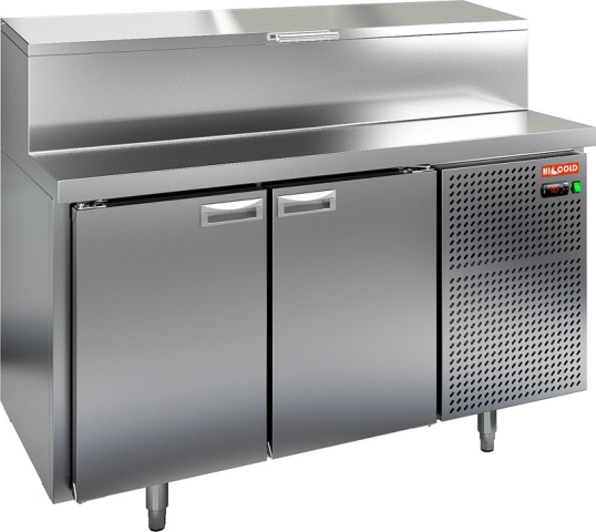 Стол охлаждаемый для пиццы_HICOLD PZ1-11/GN (1/3)
