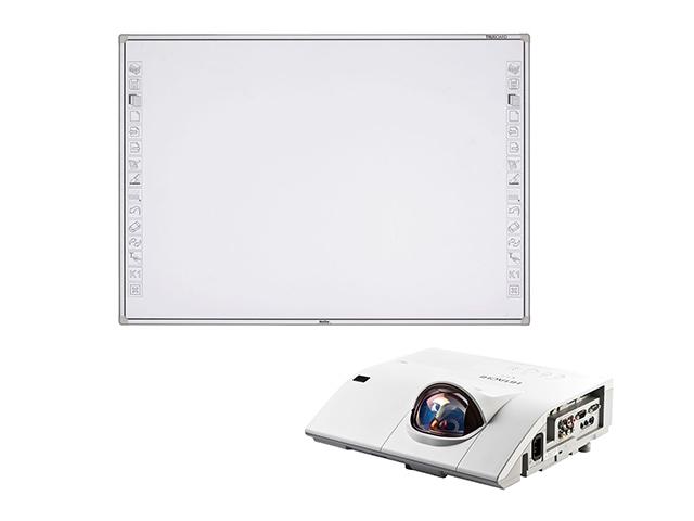 Интерактивная доска NewLine R3-800 + проектор Hitachi CP-CX300WN