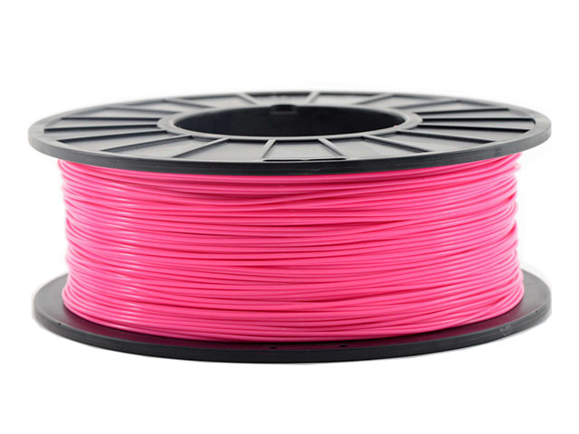 Пластик ABS розовый 250гр abs 1 75 3d 395m