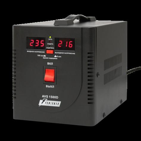 Стабилизатор напряжения_Powerman AVS 1500D black