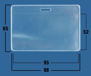 Карман мягкий прозрачный IDR01