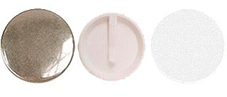 Заготовки для значков d75 мм, клипса, 100 шт заготовки для значков d58 мм клипса магнит 100 шт