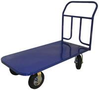 Тележка платформенная 4-х колесная ручная Стелла КП-350 (до 300 кг)