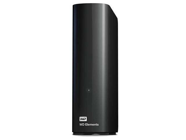Внешний жесткий диск Elements 2ТБ (WDBWLG0020HBK-EESN), черный внешний жесткий диск hdd western digital original usb 3 0 500 gb wdbuzg 5000 abk eesn elements 2 5 черный