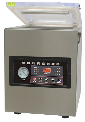 Настольная вакуум-упаковочная машина HL DZ-500T (нерж.)
