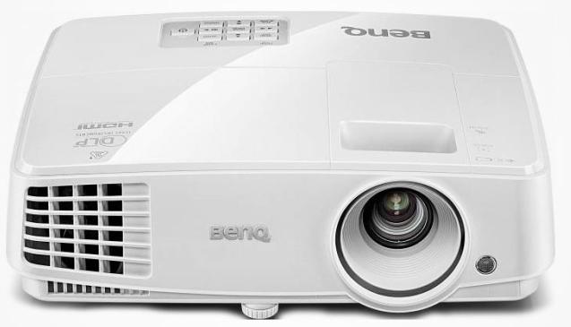Benq MW529 White benq benq gp30 ультрапортативный черный