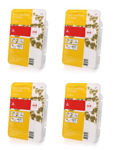 Комплект картриджей ColorWave 500 Yellow, 500 гр, 4 шт (39805004) цена