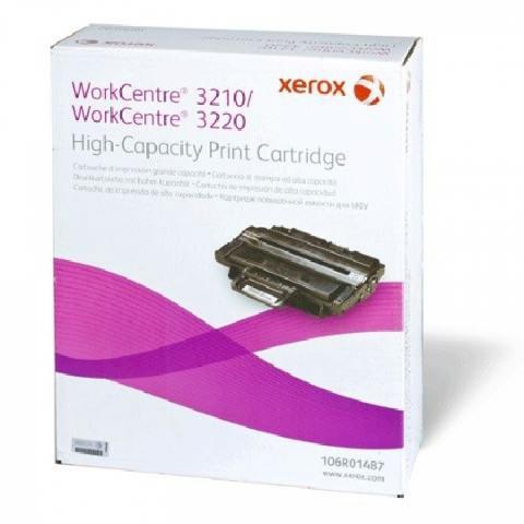 Принт-картридж 106R01487 принт картридж workcentre 3210 3220 повышенной емкости 4100 страниц 106r01487