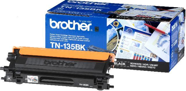 Тонер-картридж TN-135BK тонер картридж tn 116