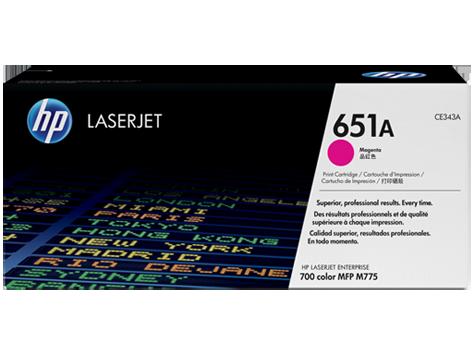 Тонер-картридж HP 651A CE343A hp ce343a magenta
