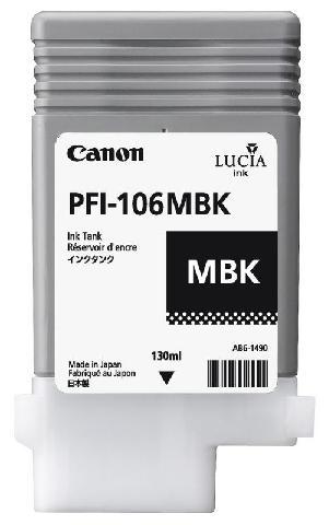 Картридж Canon Matte black PFI-106MBK (матовый черный) canon pfi 206 mbk matte black