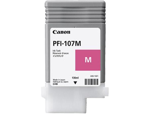 Картридж Magenta PFI-107 M (пурпурный) картридж струйный cactus cs pfi107bk черный 130мл для canon ip ipf670 ipf680 ipf685 ipf770 ipf780 ipf785