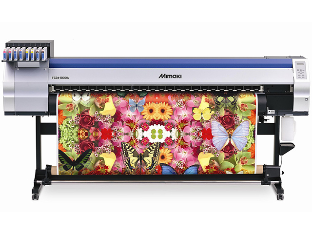 Mimaki TS34-1800A Solvent (Sub) curtain poirot s last case