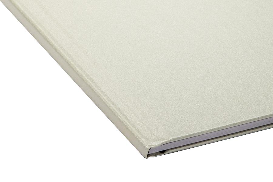 Папка для термопереплета , твердая, 160, жемчужная папки канцелярские centrum папка регистр а4 5 см фиолетовая