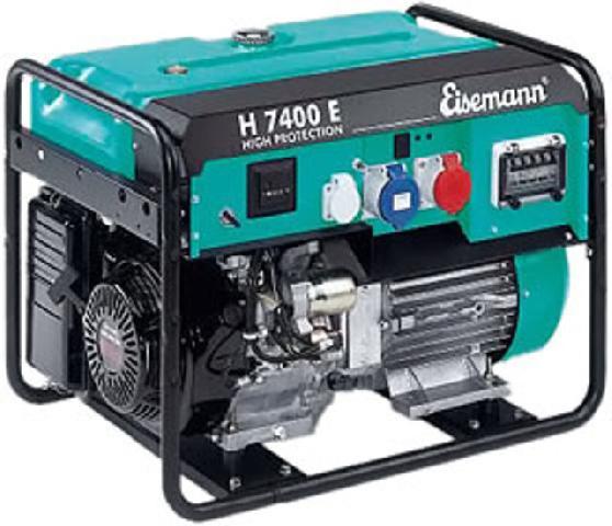 Бензиновый генератор_Eisemann H 7400 E