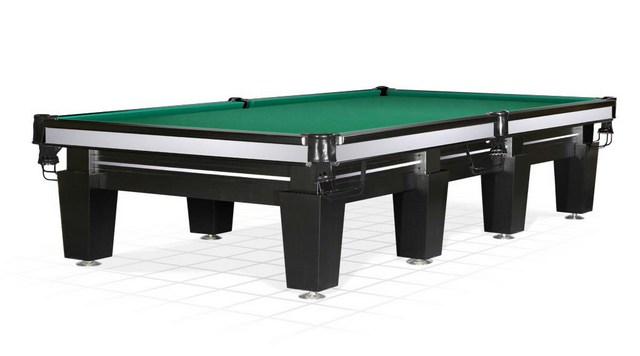 Бильярдный стол_Русская пирамида Magnum (12 футов,черный)