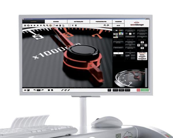 Сенсорная панель с диагональю 24 для сканеров Rowe