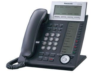Системный телефон_Panasonic KX-NT366RU-B Компания ForOffice 12995.000