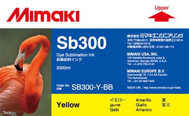 Чернила   SB300 Yellow