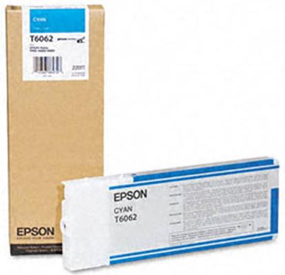 C13T606200 Cyan 220 мл (C13T606200) new and original for epson stylus pro 4450 4800 4880c 4880 px6250 6550 4880 solenoid assy cr c593 esl asp solenoid