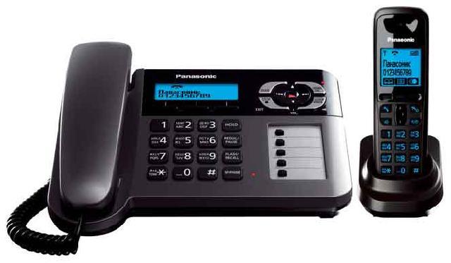Радиотелефон_Panasonic KX-TG6461RUT Компания ForOffice 3623.000