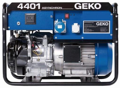 Бензиновый генератор_Geko 4401 E-AA/HEBA