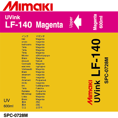 где купить Чернила Mimaki LF-140 SPC-0728M Magenta по лучшей цене