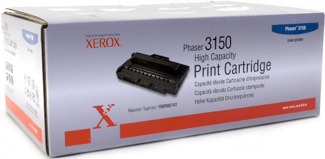 Принт-картридж 109R00747 принт сервер xerox 097n01548