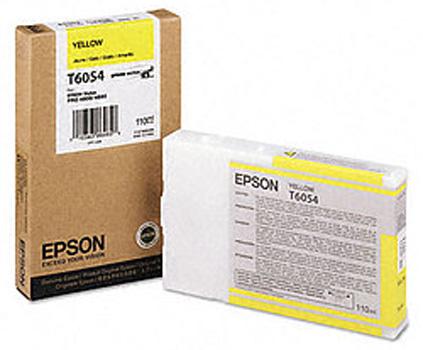 Картридж Epson C13T605400 Yellow