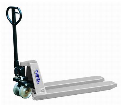 Тележка гидравлическая (рохля) Tisel T50 (для сверхтяжелых грузов)