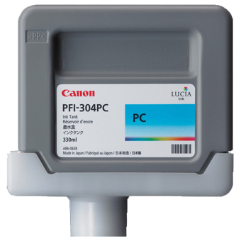 Картридж (PFI-304PC) Photo Cyan картридж canon cyan pfi 303c голубой